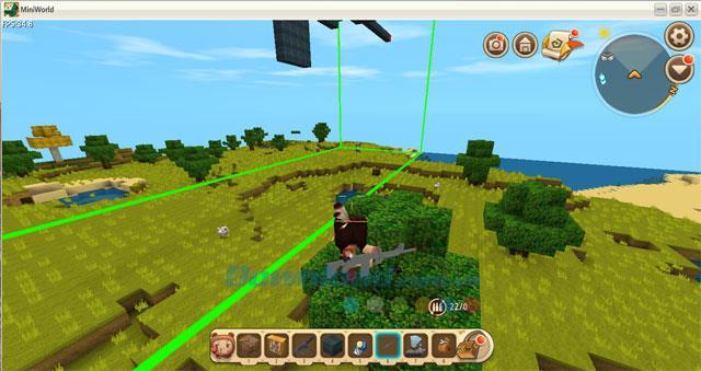 كيفية إنشاء نموذج بندقية منفصل في Mini World: Block Art