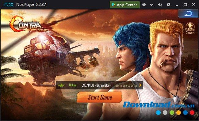 How to play Garena Contra: Return using the keyboard