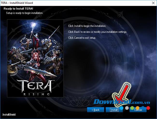 چگونه بازی TERA را بارگیری و نصب کنید