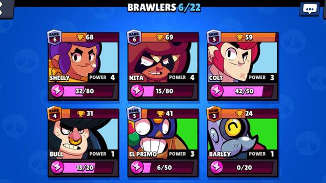 How to become a TOP 1 player in the game Brawl Stars