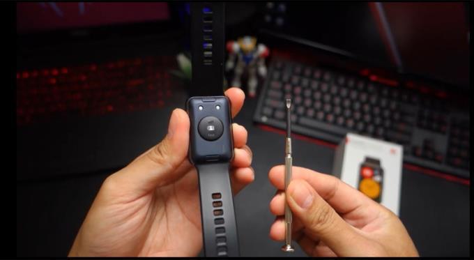 Instructies voor het verwijderen en vervangen van de Huawei Watch Fit-band in slechts 3 stappen