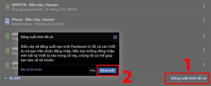 نحوه ورود به سیستم از فیس بوک ، مسنجر در دستگاه دیگری از راه دور