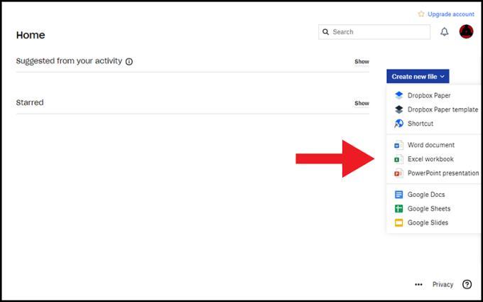 ما هي أداة تخزين Dropbox؟  كيفية إنشاء حساب واستخدامه