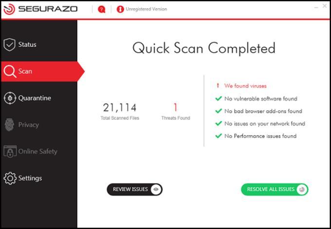 Segurazo Antivirus nedir?  Segurazo Antivirus nasıl kalıcı olarak kaldırılır