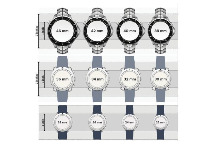 सर्वश्रेष्ठ खरीद चुनने के लिए घड़ी के आकार को कैसे मापें