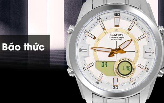 Cómo ajustar la fecha y la hora en los botones simples de Casio 4