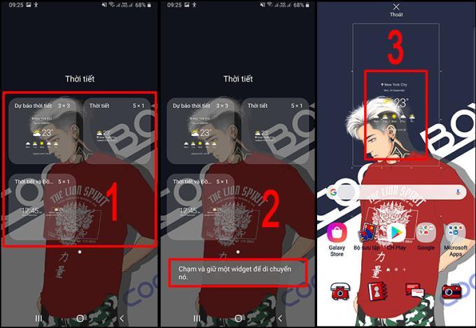 Cara menambah dan menginstal widget cuaca di ponsel Samsung