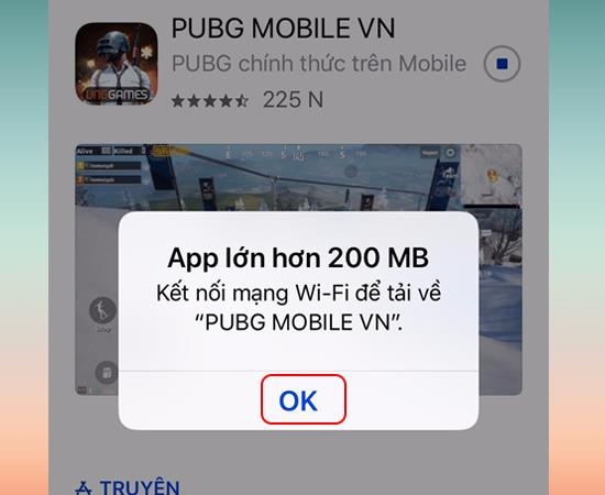Petunjuk tentang cara mengunduh aplikasi lebih dari 200 MB menggunakan 3G4G di iOS 12