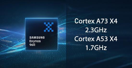 เรียนรู้ชิป Samsung Exynos 9611