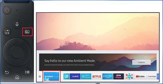O que é o modo ambiente nas TVs Samsung QLED?  Como ativar e usar