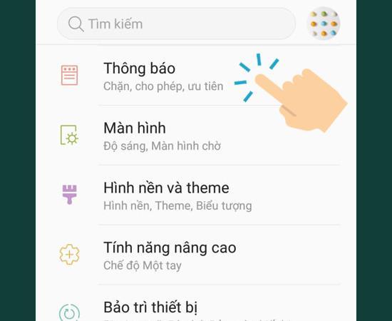 3 langkah untuk mematikan notifikasi aplikasi pada Samsung Galaxy Note FE