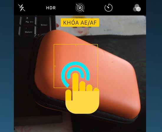 3 langkah untuk mengunci eksposur dan kunci fokus saat mengambil foto dengan iPhone