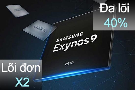 ตรวจสอบชิป Exynos 9810 บนเรือธงระดับสูงของ Samsung