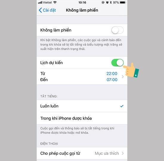 Como usar o modo não perturbe no iPhone