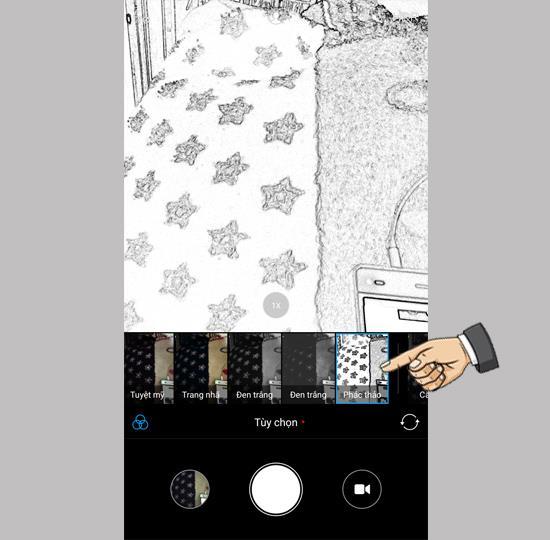 Fotoeffekt auf Xiaomi Mi A1 32GB