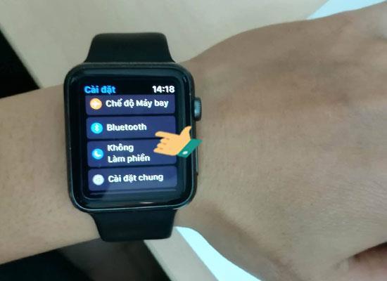 Conectați Airpods la Apple Watch