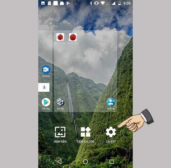 Motorola Moto G5S Plus'ta Google'a Erişmek için Kaydırmayı Etkinleştirin