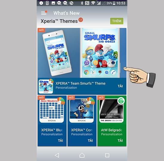 Sony Xperia XA1 Plus'ta Whats new uygulamasına erişin