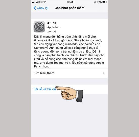 iOS11の公式リリースと違い