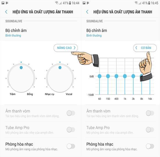 Personalizza gli effetti sonori su Samsung Galaxy J3 Pro