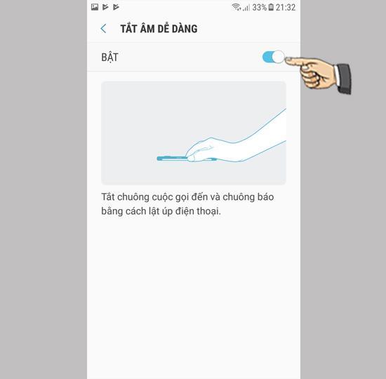 Desligue a campainha de chamada rápida no Samsung Galaxy J3 Pro