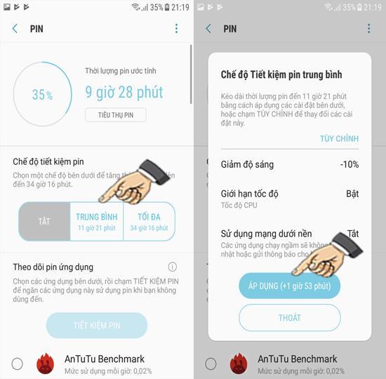 Ativar economia de bateria no Samsung Galaxy J3 Pro