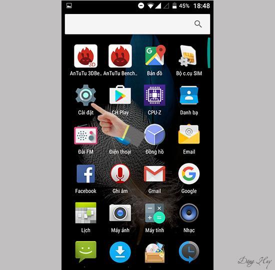 Mobell Nova i4 ekranını aydınlatmak için iki kez dokunun