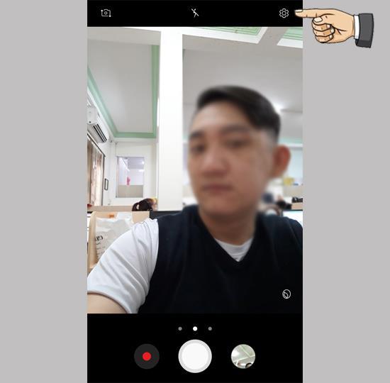 손바닥으로 사진 찍기 Samsung Galaxy J7 Pro