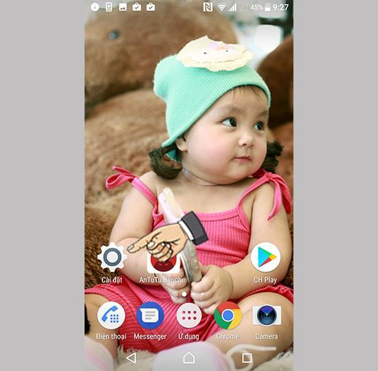 在 Sony Xperia XZ Premium 上激活智能清潔實用程序