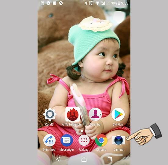 Captură tactilă pe Sony Xperia XZ Premium