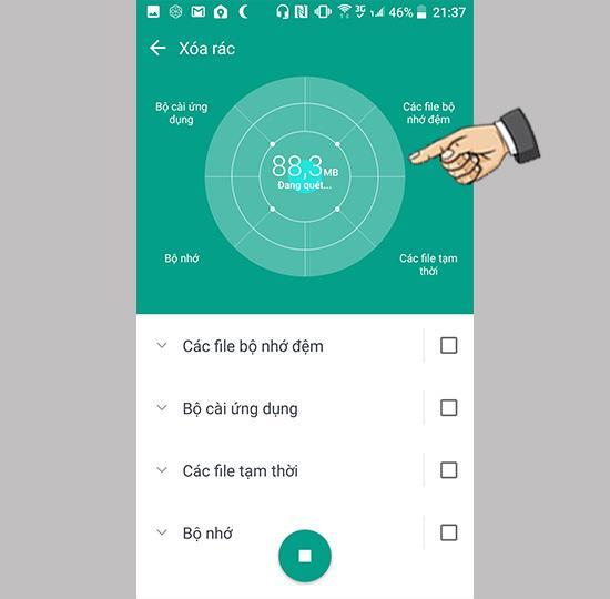 Ștergeți fișierele nedorite de pe HTC U11
