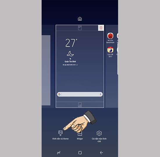 Samsung Galaxy S8에서 라이브 배경 화면 변경