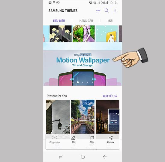 قم بتغيير Motion Wallpaper على Samsung Galaxy S8