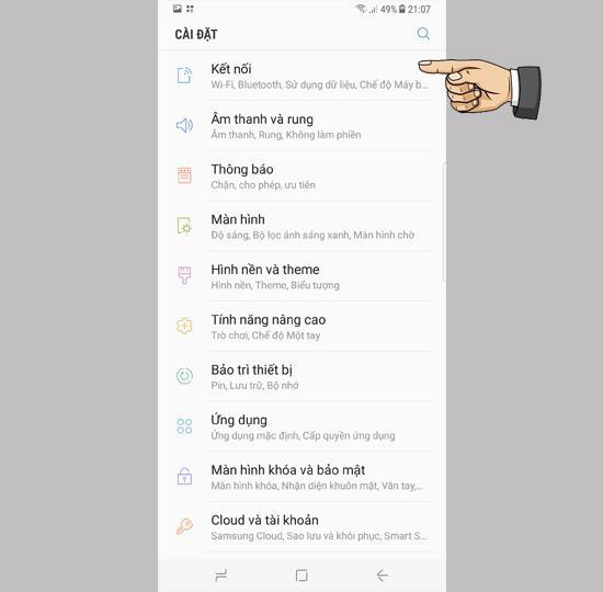 3G delen als wifi op de Samsung Galaxy S8 Plus
