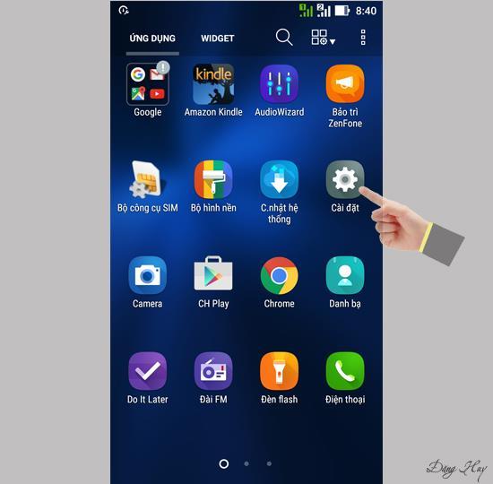 華碩 Zenfone 3 ZE520KL 的電池百分比