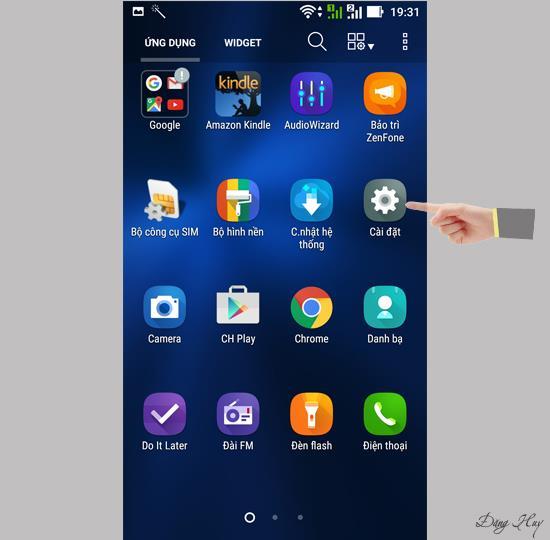 Schimbați limba pentru Asus Zenfone 3 ZE520KL