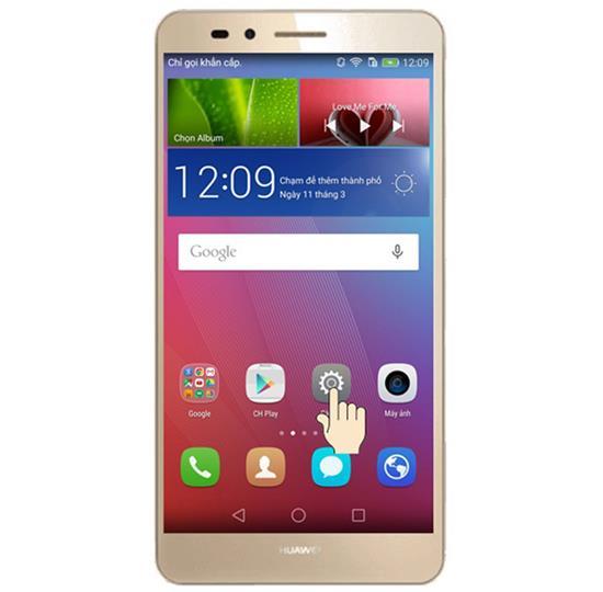 Huawei GR5 reglarea temperaturii culorii