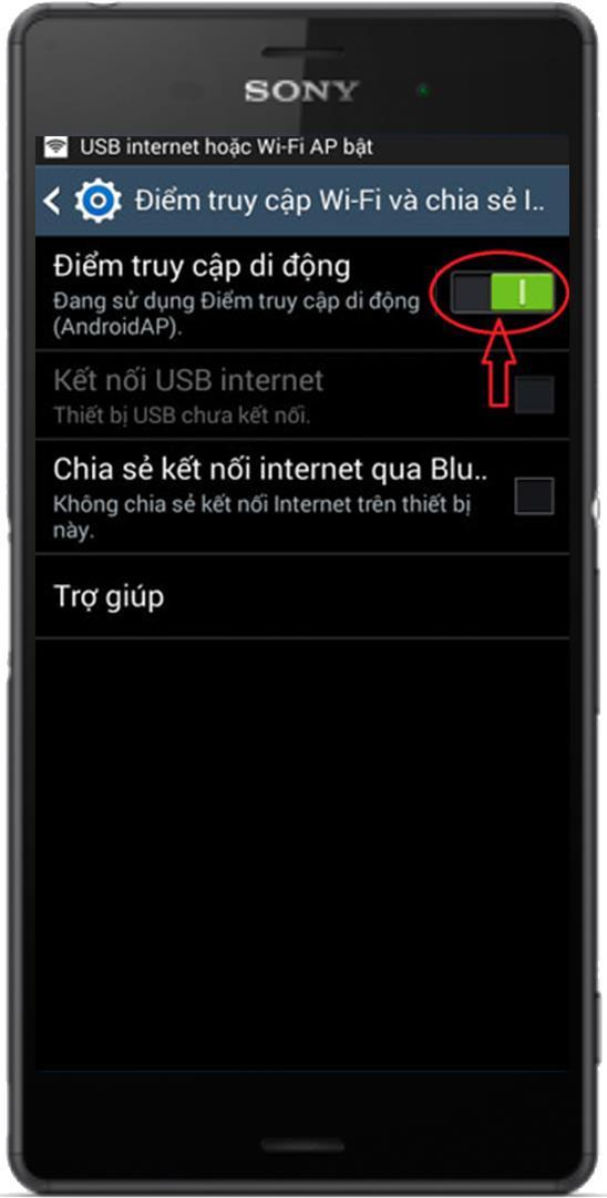 เหตุใดฉันจึงไม่สามารถตั้งรหัสผ่านเมื่อแชร์เครือข่าย 3G บน Android