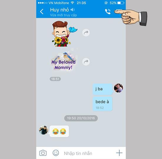 كيفية الاتصال بالفيديو على Zalo لنظام iOS مع التحديث الجديد
