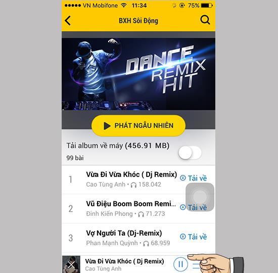 رفع خطای عدم شنیدن موسیقی Zing Mp3 هنگام خاموش بودن صفحه در iOS