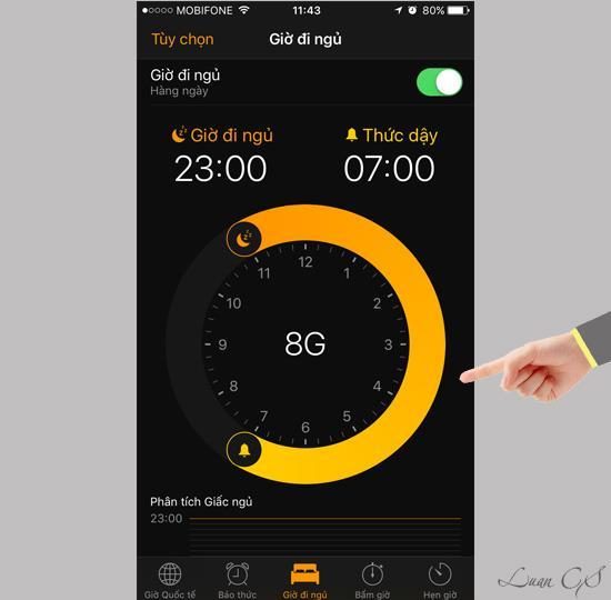 iOS10で睡眠を追跡する