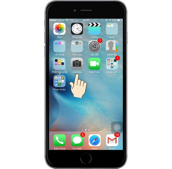 تسجيل فيديو بطيء على iPhone 6s