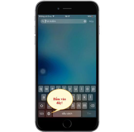 Como digitar VNI vietnamita no iPhone 6s
