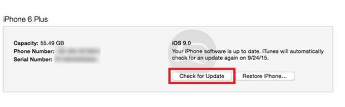 دستورالعمل های بازگشت به iOS 8.4.1 پس از ارتقا به iOS 9 - روش 1