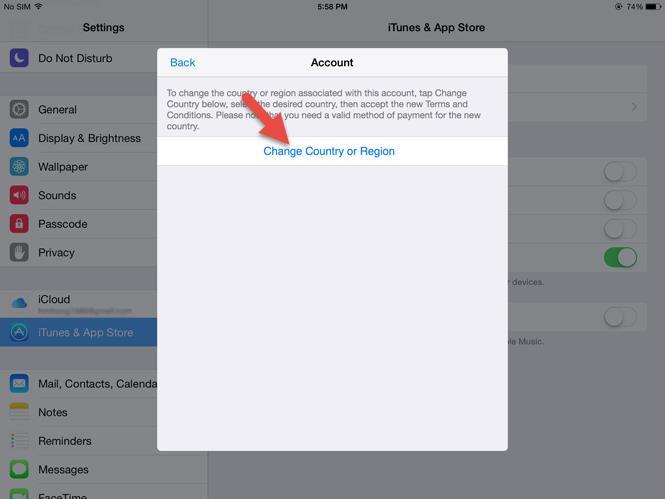 كيفية تنزيل تطبيقات iOS ليست مناسبة للسوق الفيتنامي