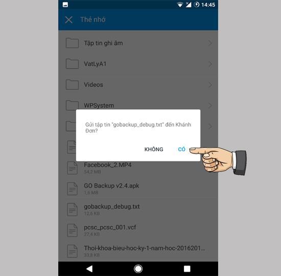 एंड्रॉइड पर ज़ालो के माध्यम से फाइलें कैसे भेजें