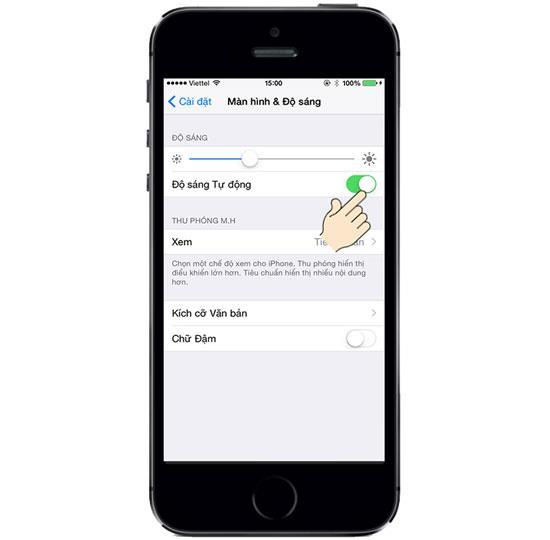 Como ajustar o brilho da tela no iPhone 5S