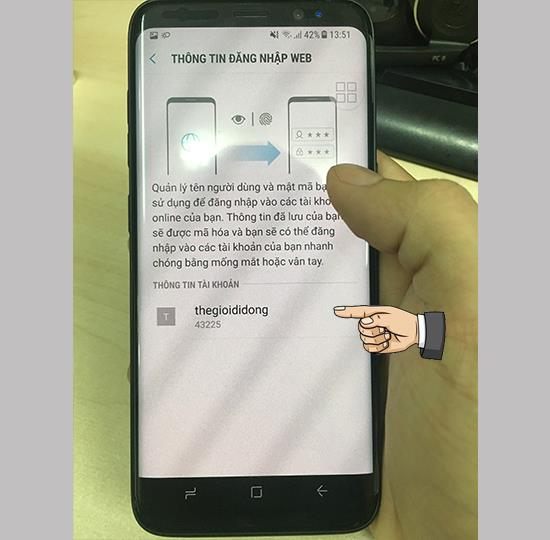 Samsung Pass feature on Samsung Android 7 phones part 2