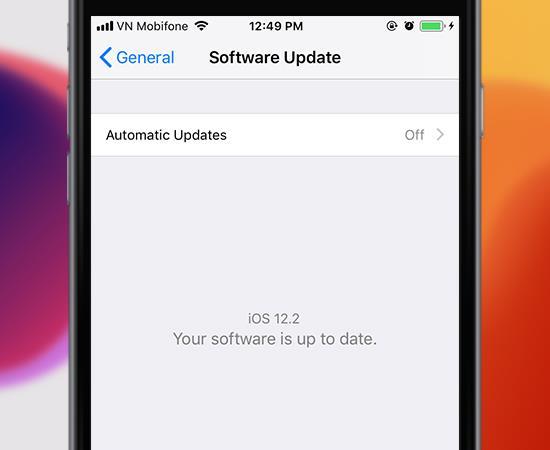 Panduan untuk memeriksa peningkatan versi iOS pada iPhone 2019 terpantas